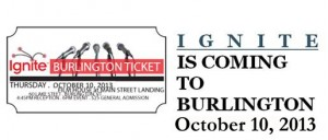 Banner Header - Ignite Burlington with date