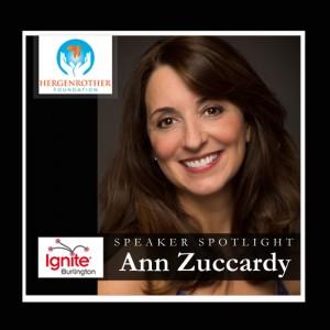 Speaker Spotlight - Ann Zuccardy