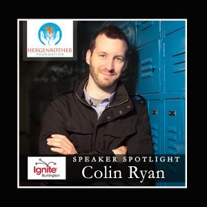 Speaker Spotlight - Colin Ryan