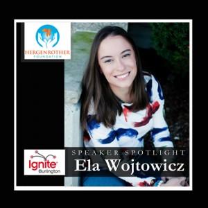 Speaker Spotlight - Ela W